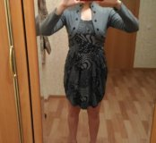 Продам серое платье