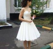 Свадебное- вечернее платье