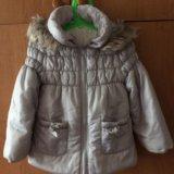 Куртка детская GeeJay для девочки 3-4 года 104см