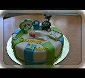 Мастичные торты