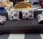Практичный диван еврокнижка