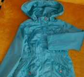 Ветровка Mayoral Jeans Spain цвет мята