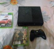 Xbox 360 + 2 игры