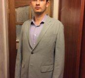 Новый Пиджак мужской серый UniClow