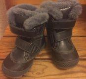 Зимние ботиночки 22 размер