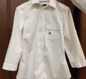Брендовая рубашка для девочки 10 лет 38 размера