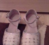 Туфли 36 размер новогодние