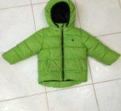Куртка демисезонная, теплая 74-86