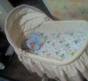 Детская кроватка -люлька