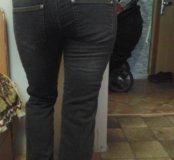 """Утепленные джинсы для беременных """"Буду мамой"""""""