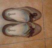 Полу ботинки, туфли.
