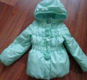 Демисезонная куртка Boom By Orby рост с 98-104 см