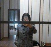 Пальто женское zara весна- осень 42-44 размер