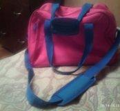 Рюкзак- сумка большой(ая) вместительный (ая)