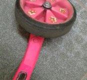 Велосипед детский розового цвета