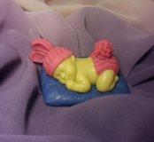 Малыш на подушке крем-мыло