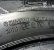 Continental 255/55 R19