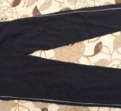 Спортивные трикотажные штаны с карманами