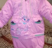 Куртка ovas 3в1 зима от6мес до 2лет
