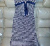 Платье  тонкое.