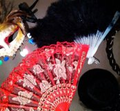 Карнавальные украшения на голову праздничные шляпы