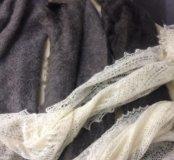 Оренбургский пуховый платок и палантин