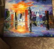 Картина, масло, авторская работа, размер 50:60
