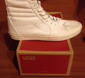 Vans Sk8-Hi (True White) Custom Торг, пишите