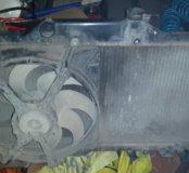 Радиатор вентилятор avensis