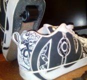 Кроссовки Heelys продам или обменяю