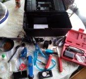 Оборудование для ремонта лобовых стёкол