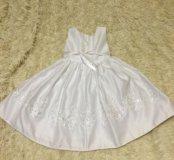 Платье белое 104