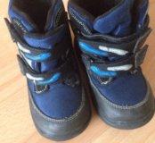 Ботинки 27 размер с флисом