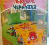 2 комплекта детского постельного белья 1.5сп