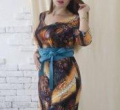 Новое платье с поясом/Польша
