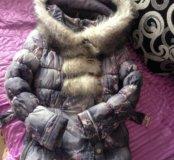 Курточка- пальто 140