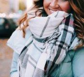Новый шарф Oversize