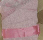 конверт -одеяло на выписку для девочки