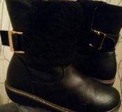 Ботинки (нат.кожа, мех) р-р 33 зимние