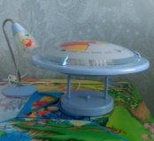 Люстра и настольная лампа Винни Пух