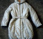 Зимнее детское пальто