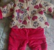 Детский костюм весна,осень на 0,5-2 года