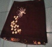 Шерстяная юбка KENZO (L)