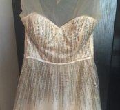 Выпускное-свадебное пышное платье