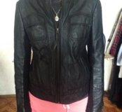 Куртка Mango 44 р-р (кожа)