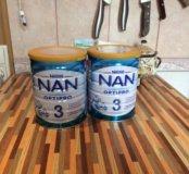 Детская молочная смесь NAN 3  800 г.