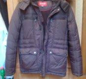Куртка зимняя с капюшоном на мальчика
