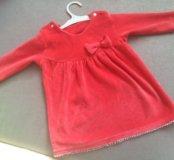 Платье на малышку от 3 х месяцев
