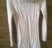 Очень тёплый вязаный свитер