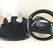 Руль и педали Genius PC